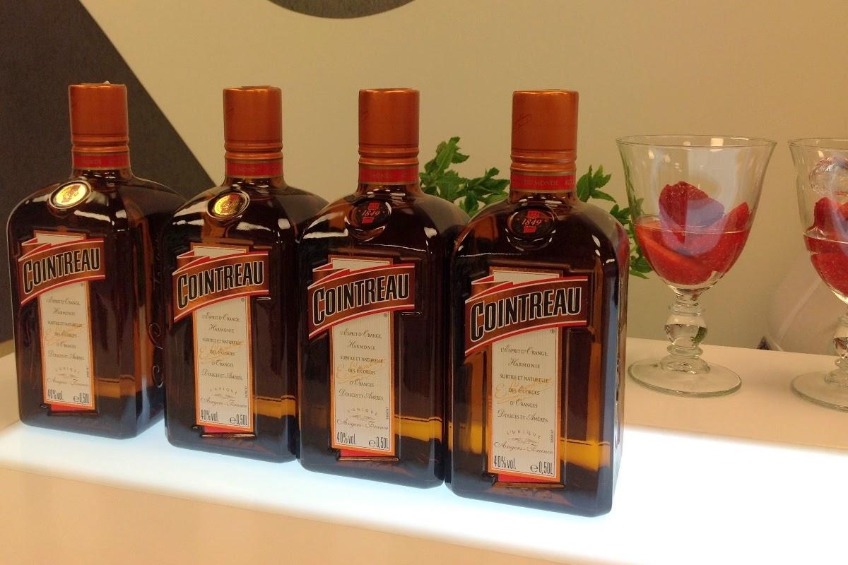 Schłodzony drink z Cointreau