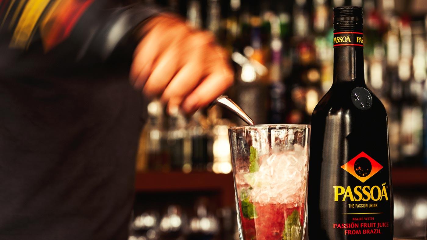 Drink z Passoa i brzoskwiniami czyli sposób na królewskie orzeźwienie